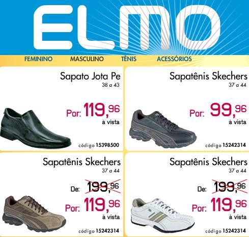 Elmo Calçados, Produtos e Ofertas – www.elmo.com.br
