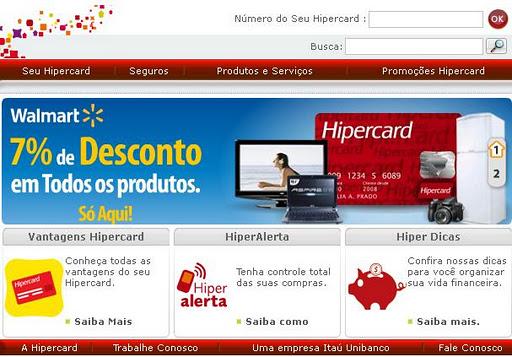 Hipercard Fatura e Extrato Online