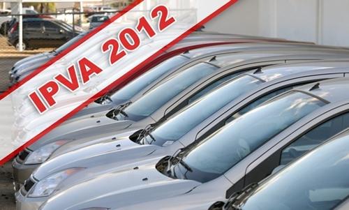 IPVA 2012 RJ – Tabela de Valores e Informações