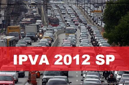 IPVA 2012 SP – Informações sobre Valor e Consulta
