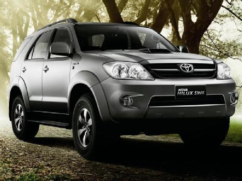 Hilux SW4 2012 | Preços e Fotos do SUV da Toyota