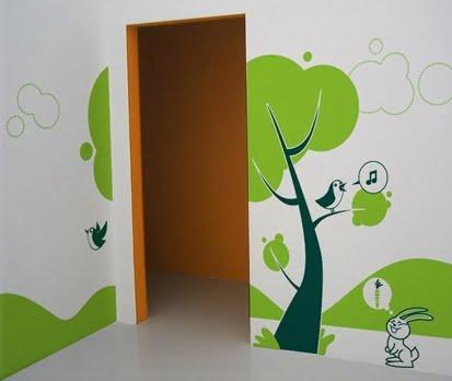 Adesivos Decorativos de Parede para Quartos Infantis – Fotos e Modelos