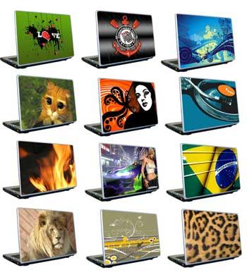Adesivos para Notebooks Personalizados, Fotos e Modelos
