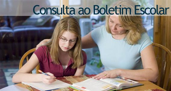 Consultar Boletim Escolar 2012