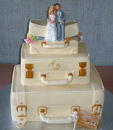 Creative And Unusual Wedding Cake - 13