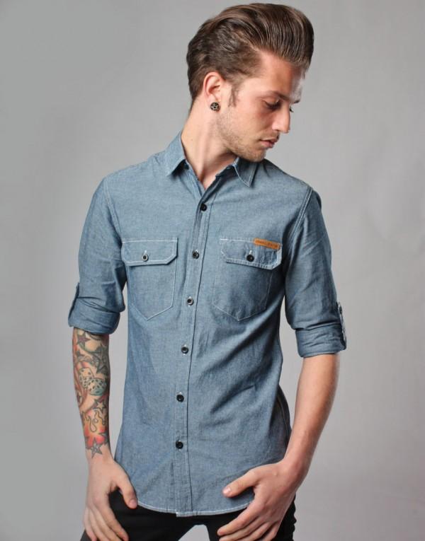 Camisas Modernas Masculinas - Dicas e Fotos
