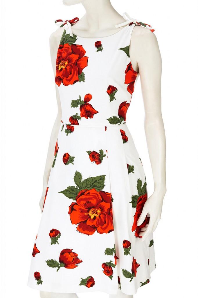 Vestidos Florais 2012 – Tendências e Fotos