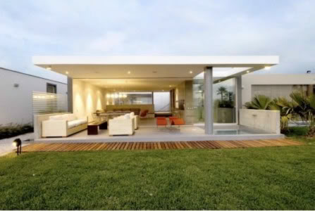 Casas bonitas e modernas fotos for Casa moderna open
