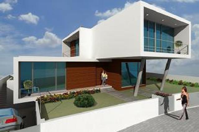 Casas bonitas e modernas fotos for Casa moderna 60 metros