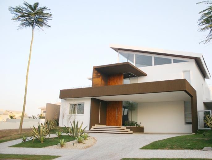 Fotos de casas bonitas e modernas for Puertas bonitas para casa