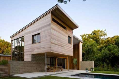 Casas madeira modernas