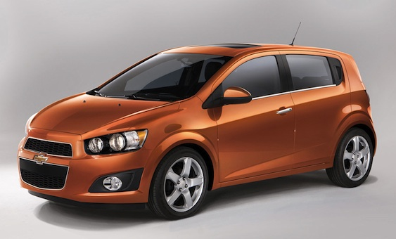 Chevrolet Sonic 2012 &#8211; Preo e Fotos