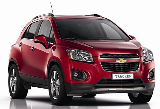 Chevrolet Tracker 2013: Preo, Fotos