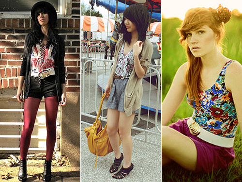 Cinto com Shorts, Fotos e Dicas de Como Usar