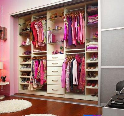 Modelos de closet pequenos for Modelos de walk in closet