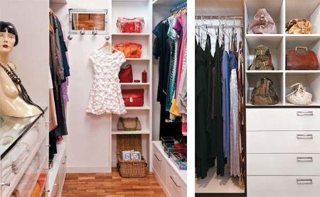 Closet Pequeno – Dicas e Fotos