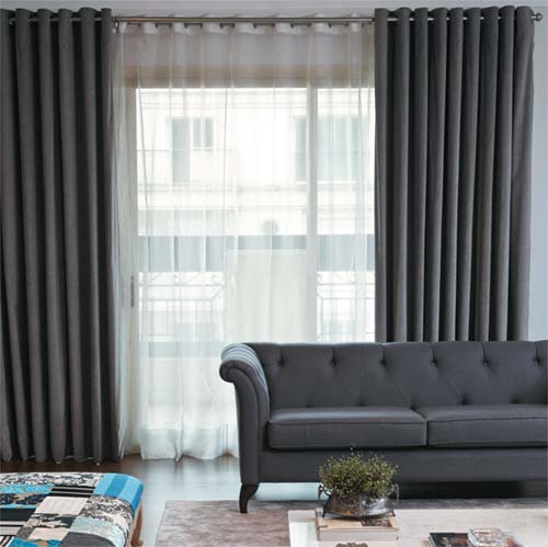 Cortinas para sala de estar dicas e fotos for Modelos de cortinas modernas para sala y comedor