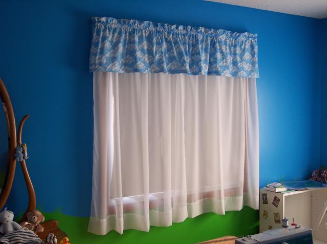 Cortinas para quartos fotos e modelos for Ver modelos de cortinas
