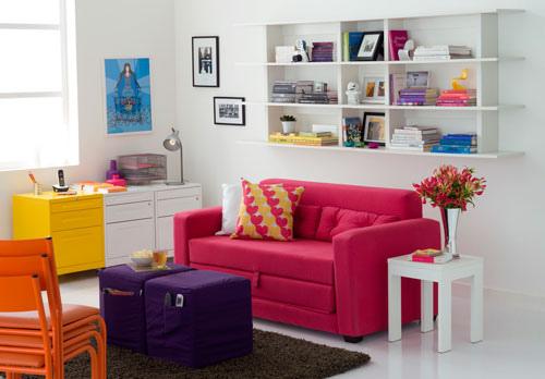 Decoração Colorida para Casa: Fotos, Dicas