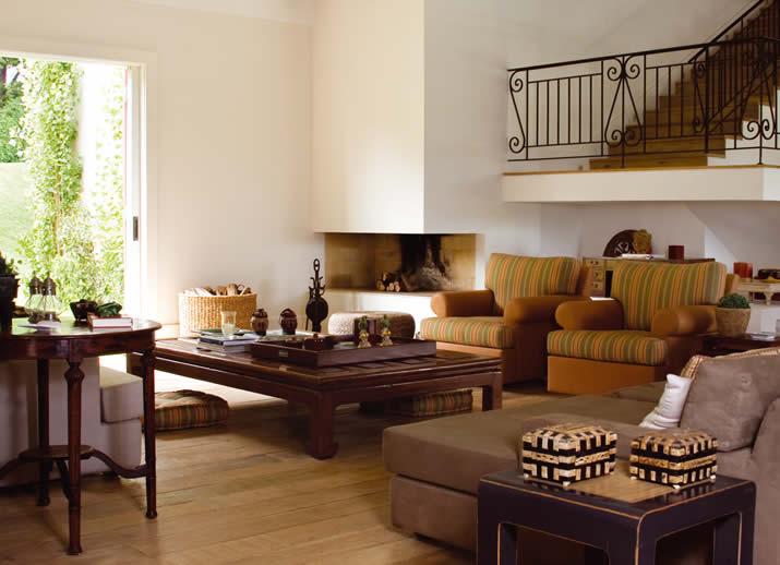 decoracao de interiores casas de campo:Portanto para decorar uma casa de campo , o principal é pôr móveis
