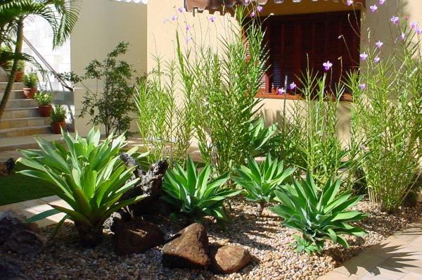 sobreDecoração de Jardim Externo Pequeno  Dicas e Modelos