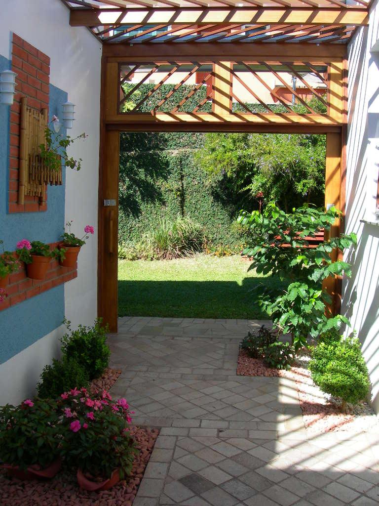 Decora o de jardim pequeno externo fotos e dicas para for Jardins pequenos e simples