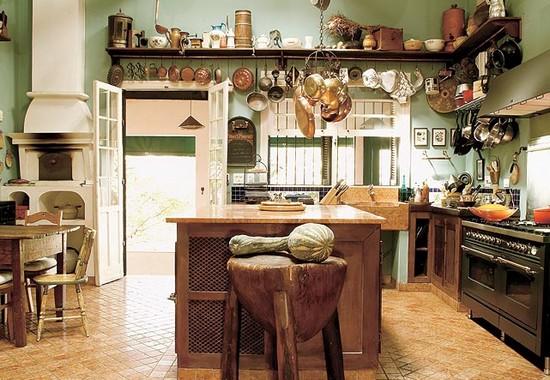 Como fazer uma decora o r stica dicas e fotos - Fotos de cocinas rusticas de campo ...