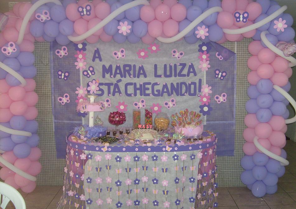 Decoracao de cha bebe simples 4 pictures for Agora decoration
