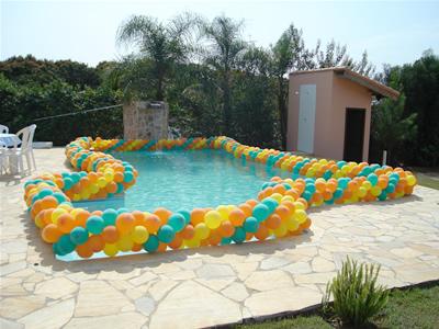 Decoração de Piscina para Festas: Fotos, Modelos