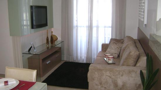 decoracao de sala unica:Sala De Apartamento Decorado