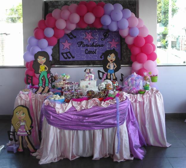 Decora??o de Festa Infantil Simples - Fotos e Modelos