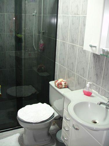Decoração Simples de Banheiros Pequenos