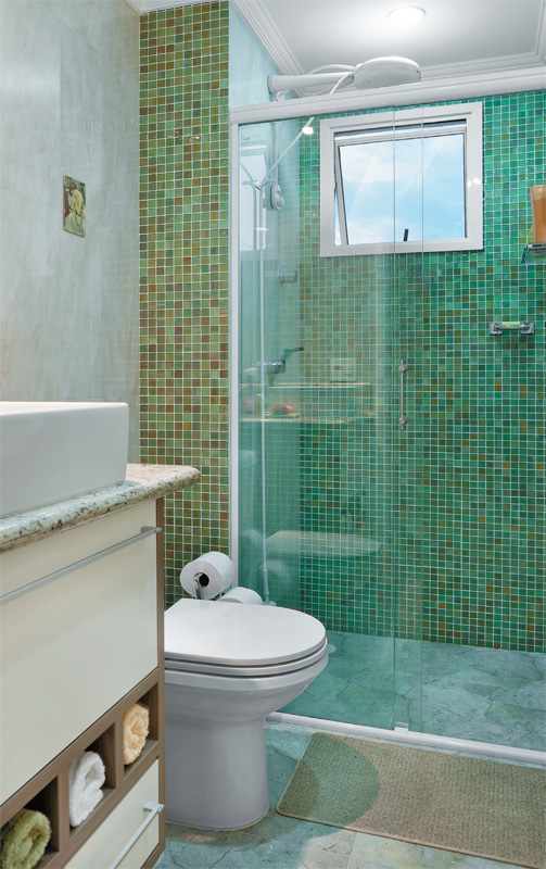 Decoração Simples de Banheiros Pequenos -> Banheiros Simples E Bonitos E Pequenos