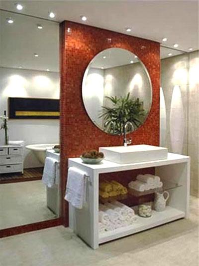 Espelhos para Banheiros – Dicas e Fotos