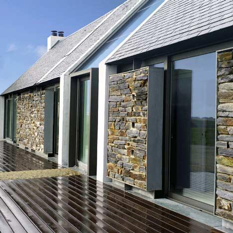 Fachadas de casas com pedras fotos e modelos - Tipos de fachadas ...