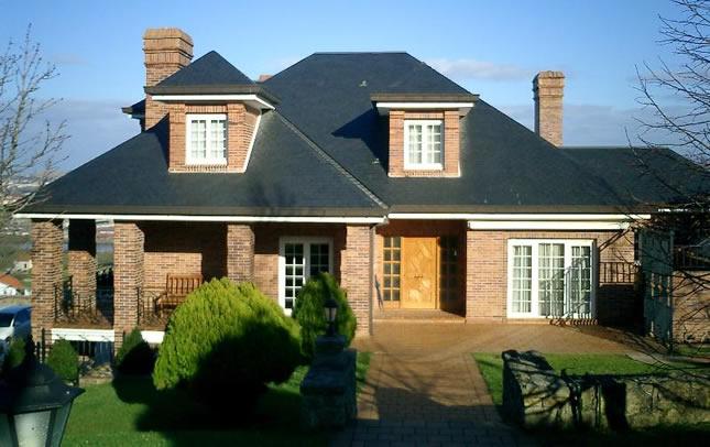 Fachadas de casas residenciais fotos for Casa modelo americano