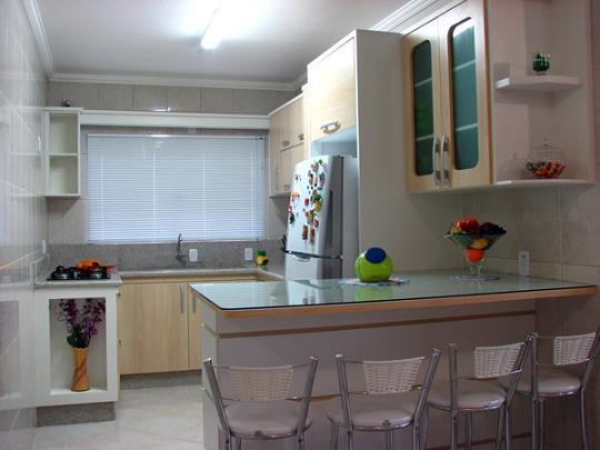 Fotos de Cozinhas Planejadas pequenas | Dicas para Decoração