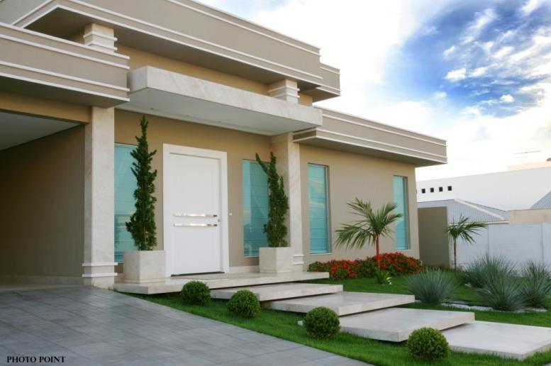 fotos de frentes de casas bonitas