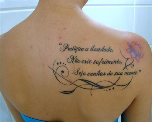 Frases para Tatuagens: Dicas e Fotos