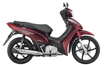Honda Biz 2012 – Fotos e modelos