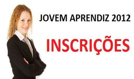Jovem Aprendiz 2012 – Inscrições