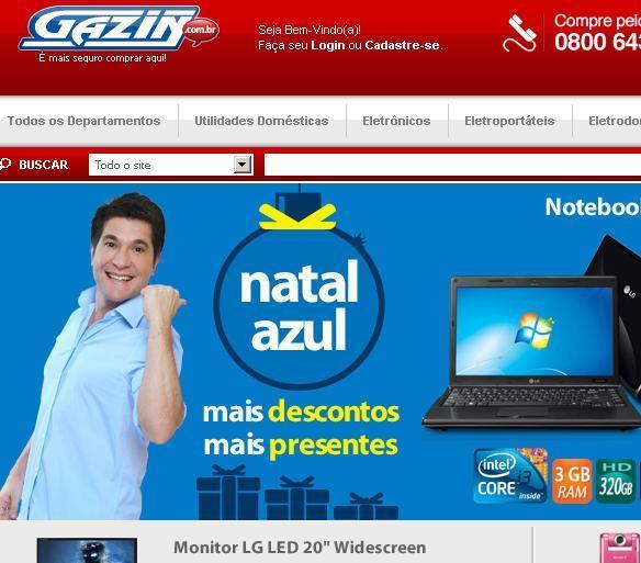 Ofertas Lojas Gazin – www.gazin.com.br
