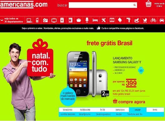 Ofertas Natal Lojas Americanas – www.americanas.com.br