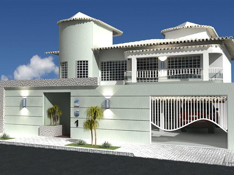 Modelos de frentes de casas for Fotos de frentes de casas