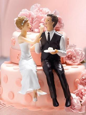 Noivinhos Criativos para Bolo de Casamento – Modelos, Preços