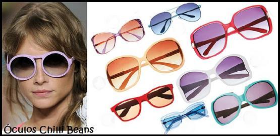 Óculos de Sol Feminino Chilli Beans 2013: Fotos
