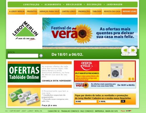 Ofertas Leroy Merlin – www.leroymerlin.com.br