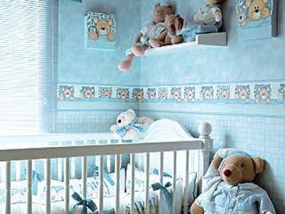 Papel de Parede para Quarto de Bebê: Fotos e Modelos