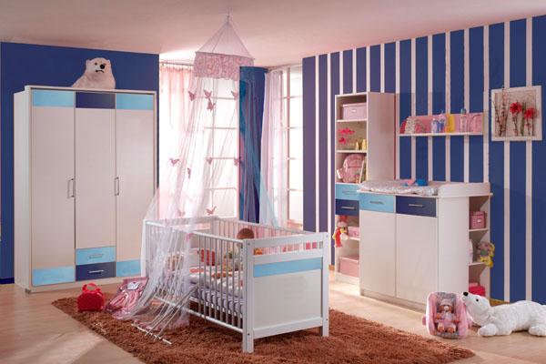 Papel de parede para quarto de beb fotos e modelos - Dormitorios de bebes recien nacidos ...