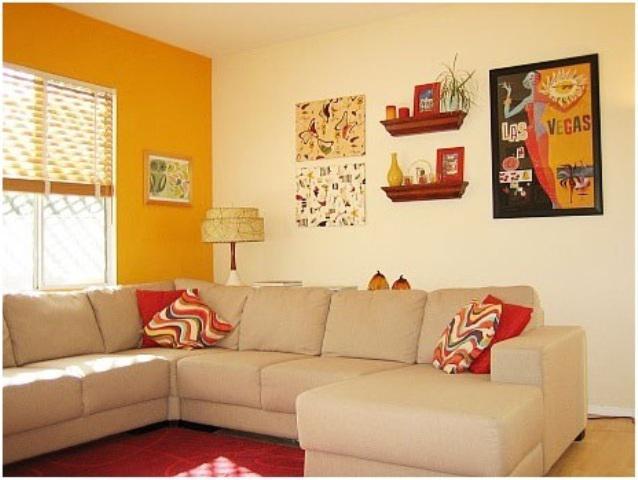 Paredes decoradas para salas fotos e dicas de decora o Colores para paredes de salas pequenas